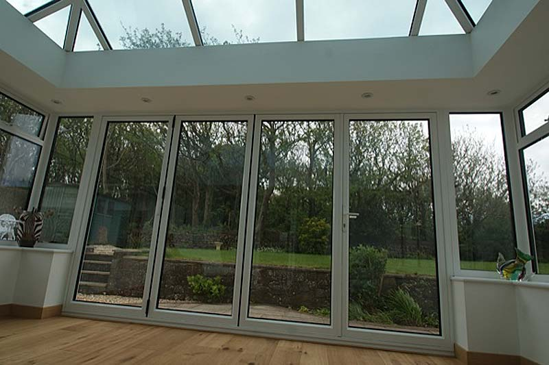 Aluminium bi folding doors brighton