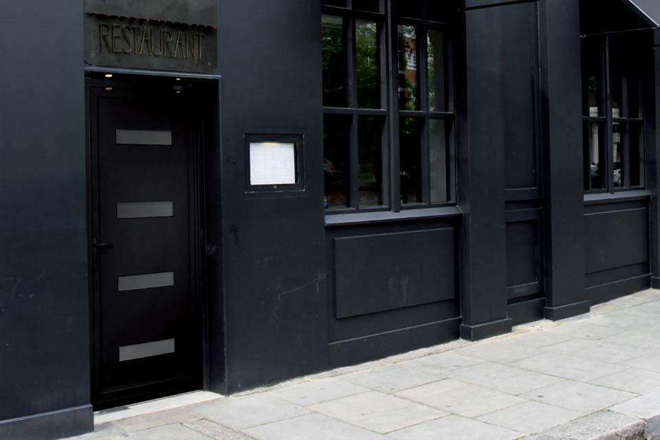 Aluminium Single Doors | Aluminium Doors | Shaws of Brighton on