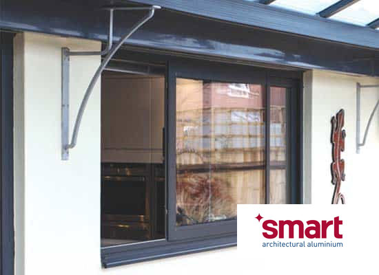Aluminium horizontal sliding windows shaws