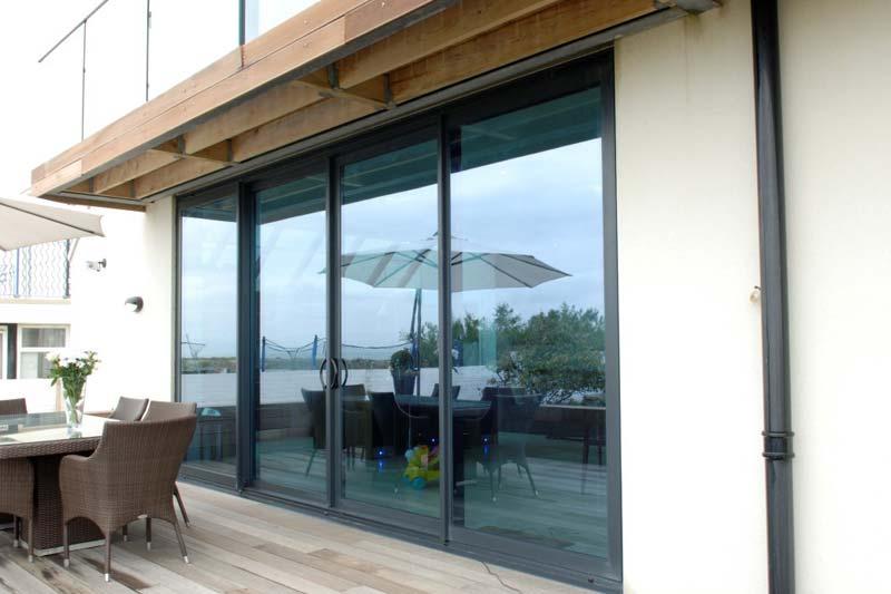 Aluminium Patio Sliding Doors | Aluminium Doors | Shaws of Brighton