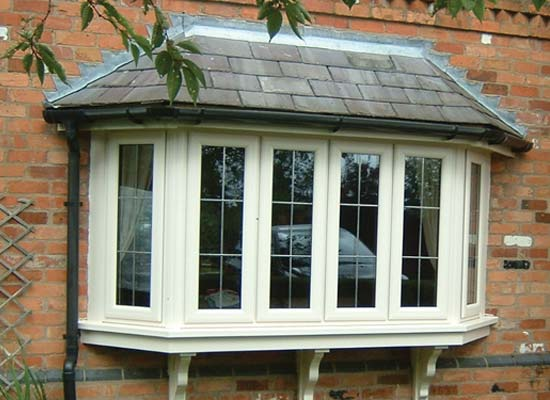 Bay bow windows upvc shaws
