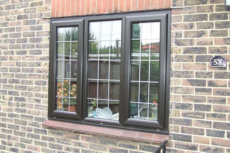 Black double glazing brighton