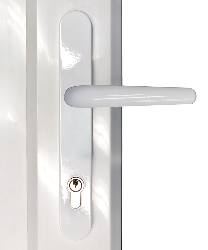 Choices door lever lever handle from shaws
