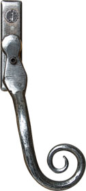 Classic pewter monkey tail handle from shaws