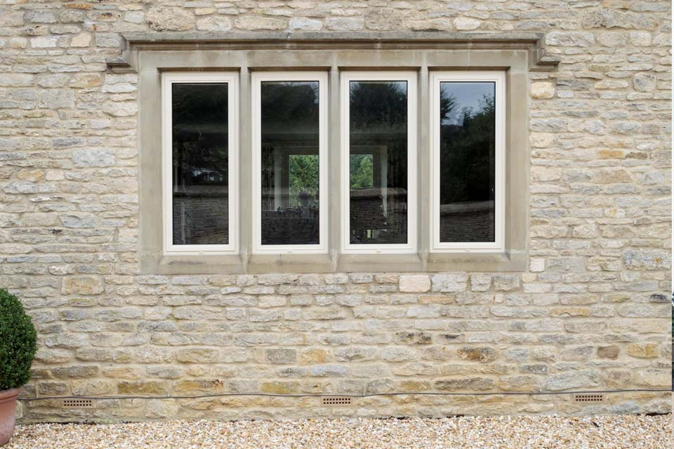 Domestic use aluminium windows