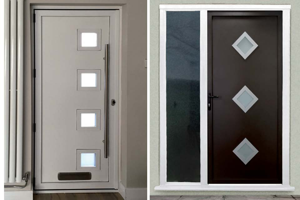 Entrance doors aluminium & Aluminium Single Doors | Aluminium Doors | Shaws of Brighton