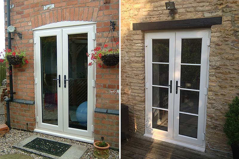 Upvc french doors upvc doors shaws of brighton for Upvc french doors inward opening
