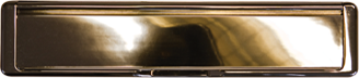 Hardex gold premium letterbox from shaws