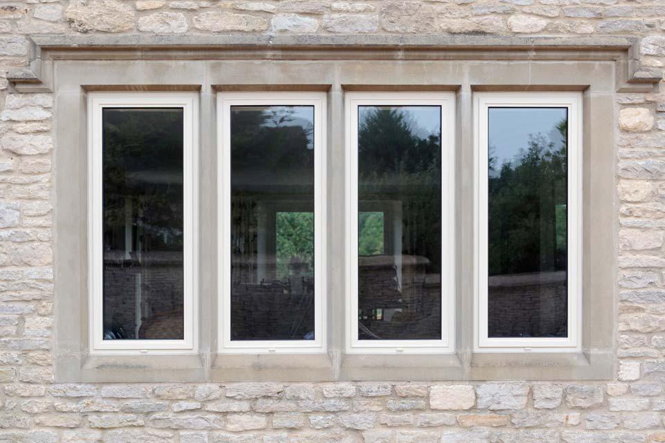 High security aluminium windows