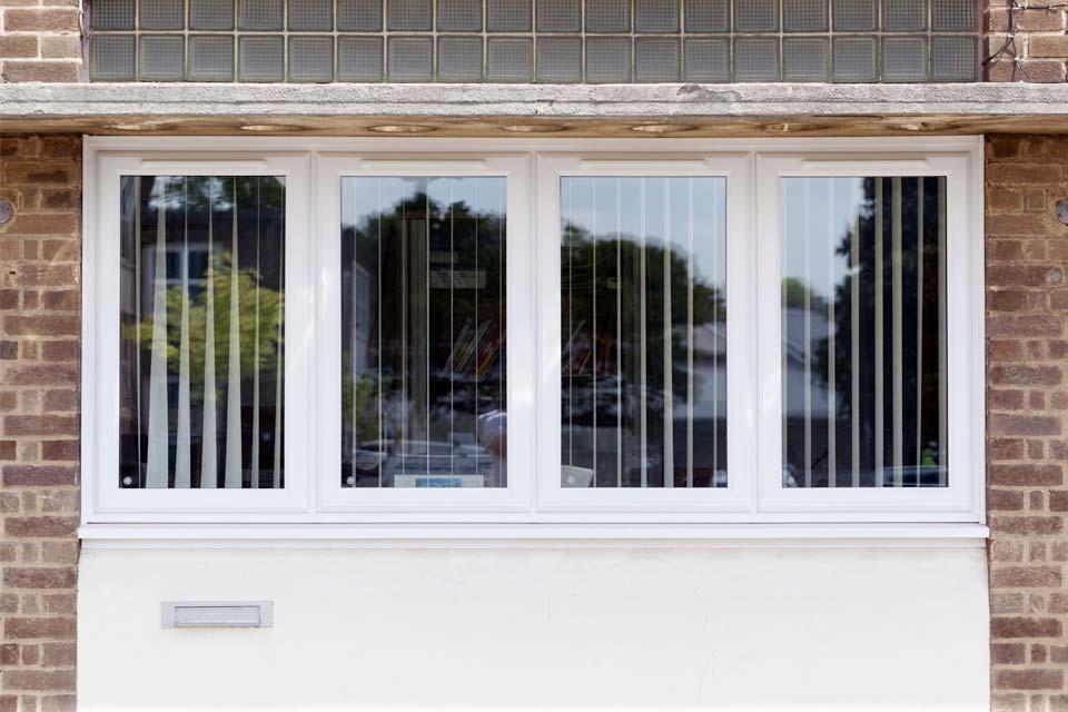 Low maintenance casement windows