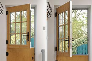 Maximum ventilation stable doors