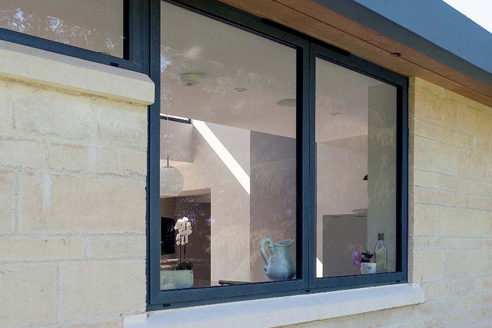 Shaws casement windows aluminium
