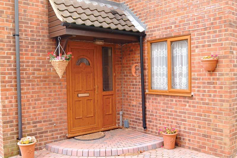 Shaws timber alternative single doors brighton
