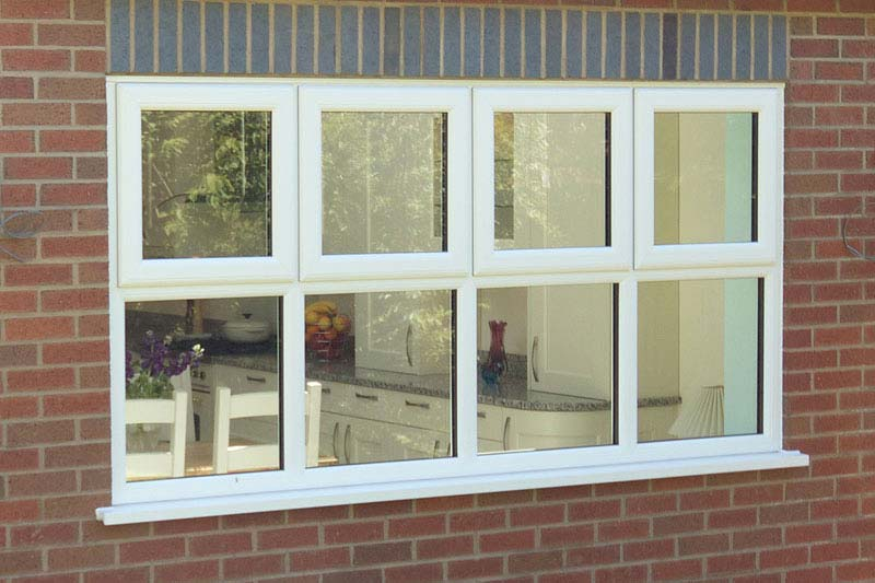 Shaws upvc tilt turn windows