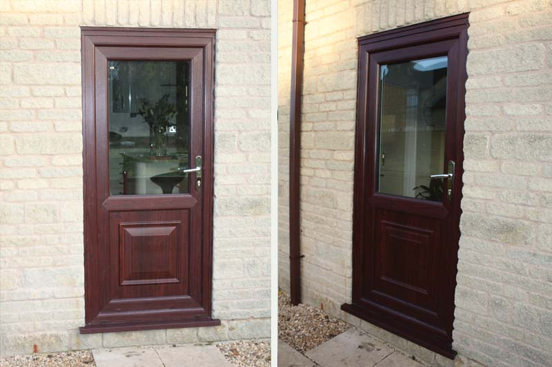 Timber alternative single front back doors brighton