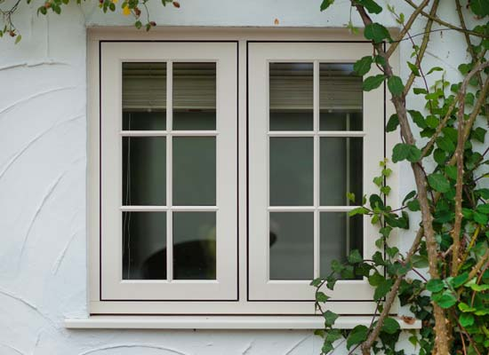 Timber alternative window