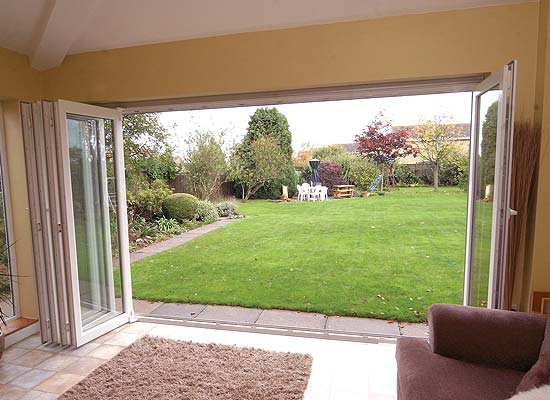 Upvc bi folding doors from shaws