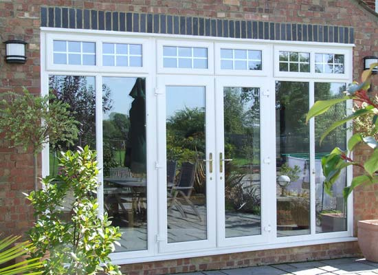 Upvc french doors shaws