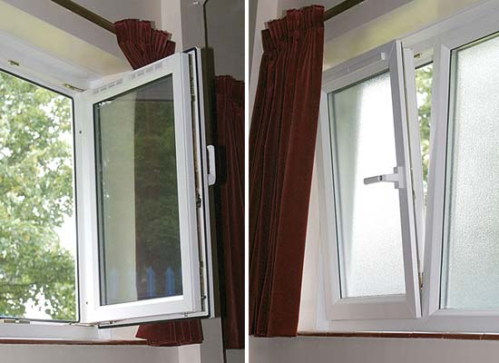 Upvc tilt turn windows from shaws of brighton