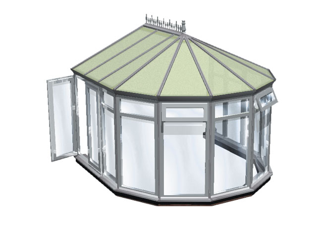 Choices full height panels conservatory title=