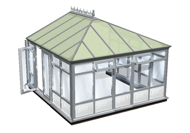 Choices full height with panels conservatory title=