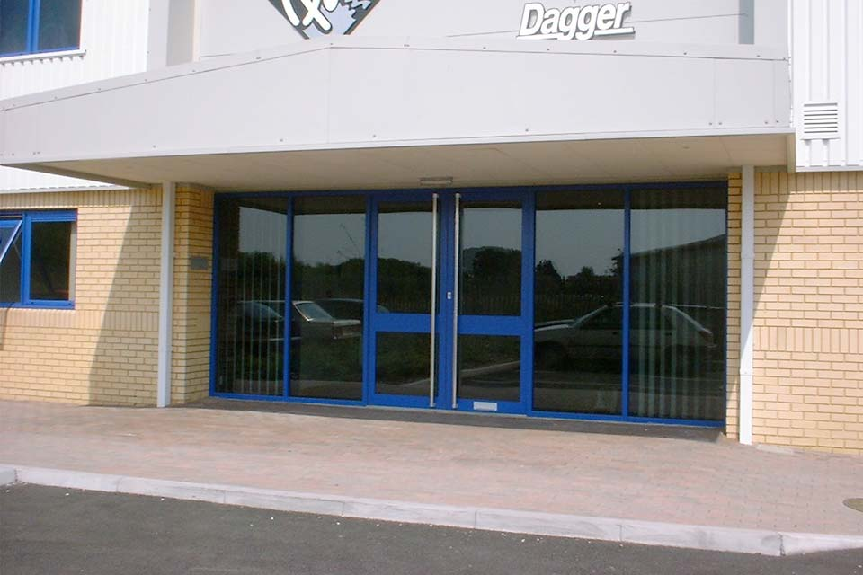 Commercial aluminium doors brighton
