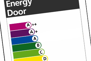Energy efficient door products