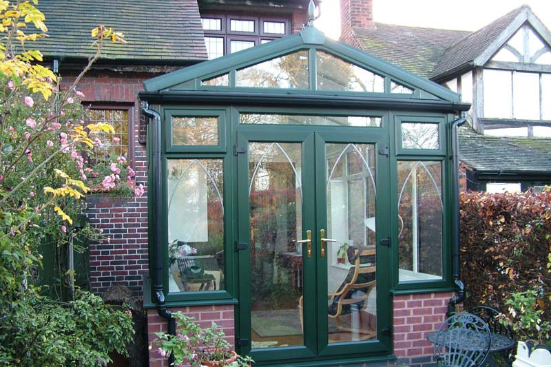 Gable end conservatories shaws of brighton