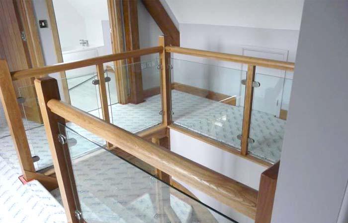 Glass staircases brighton