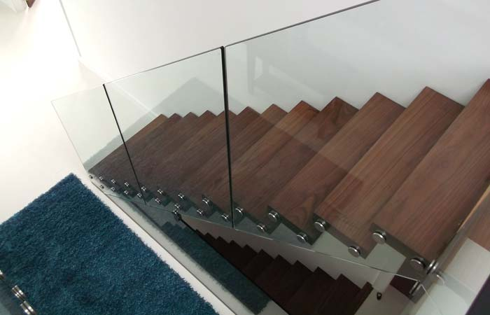 Luxury glass staircases brighton