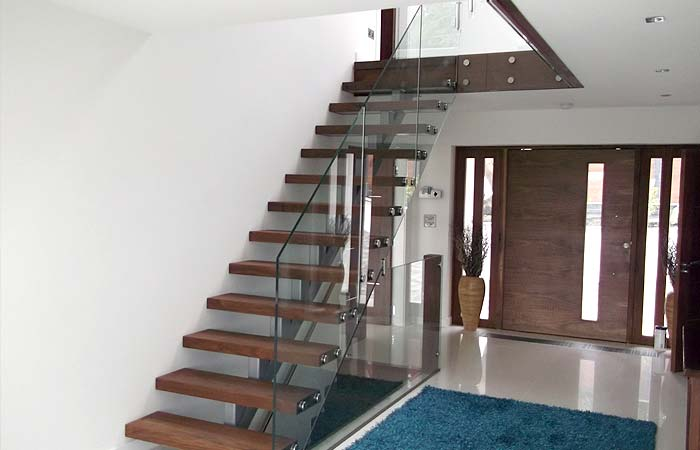 Open glass staircases brighton