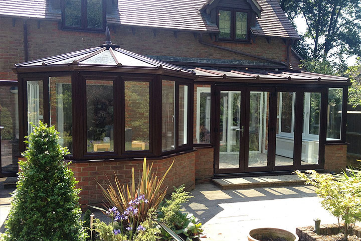 P shaped conservatories brighton