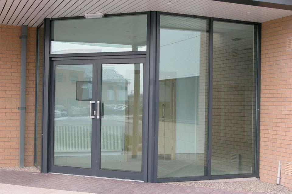 Shaws commercial doors brighton
