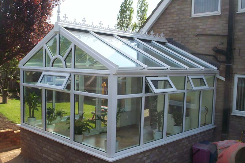 Shaws gable end conservatories