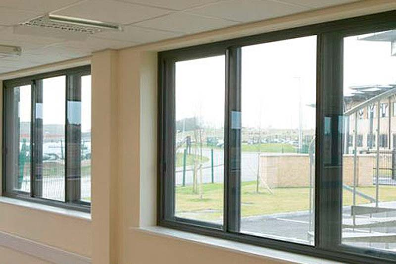 Shaws horizontal sliding secondary glazing