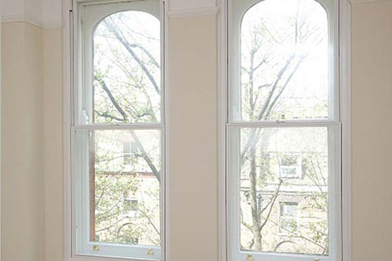 Shaws vertical sliding secondary glazing