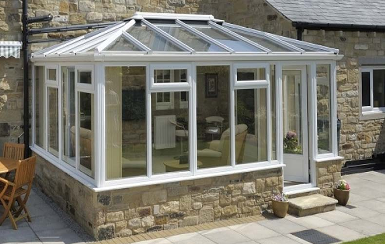 Ultra frame conservatory roofs supplier brighton title=