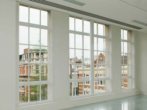 Vertical sliding secondary glazing brighton