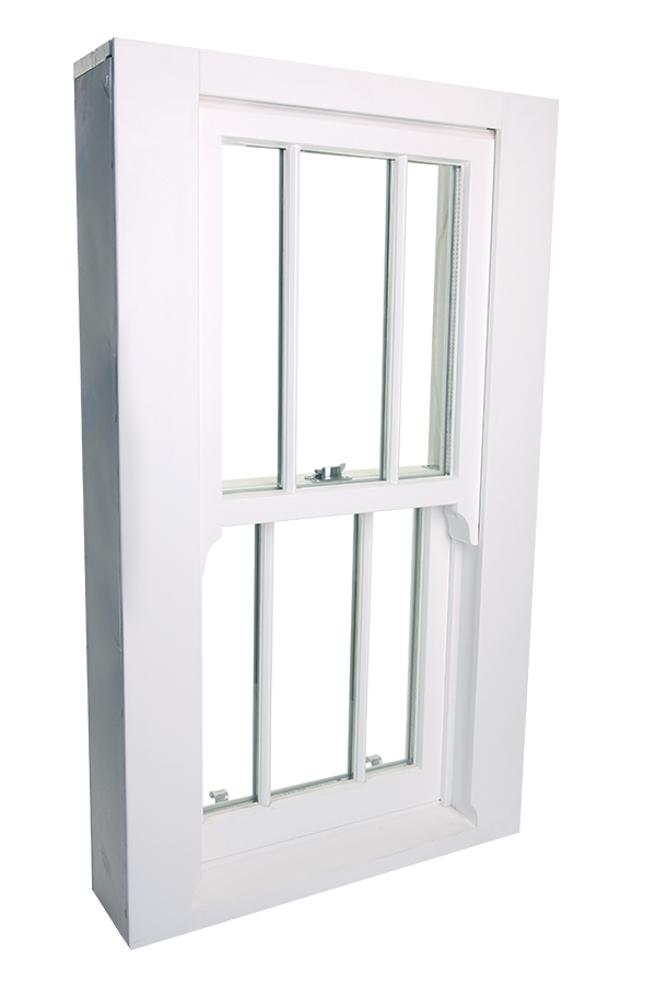 Contemporary cords timber window