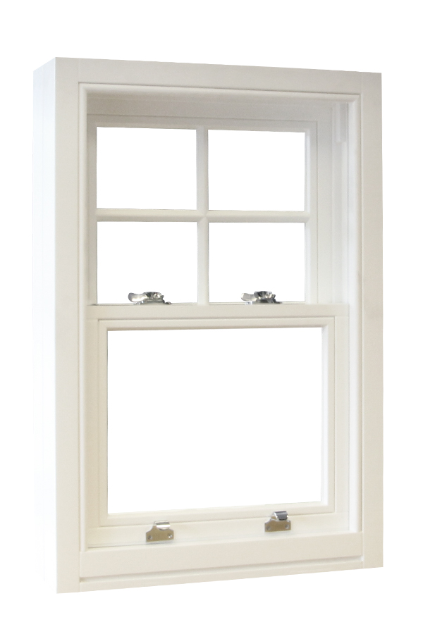 Contemporary sliding sash spiral window