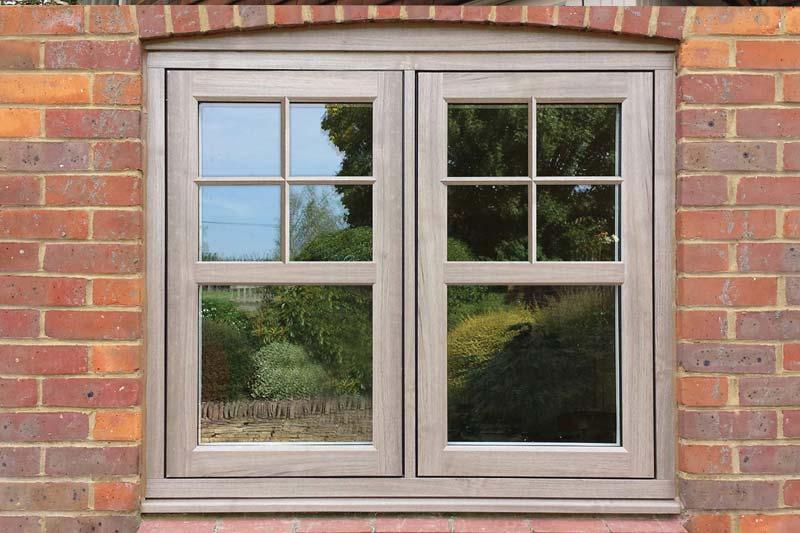 Flush 75 timber alternative windows shaws