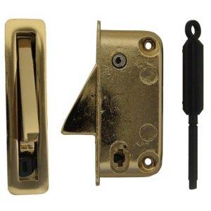 Heritage sash lock brass