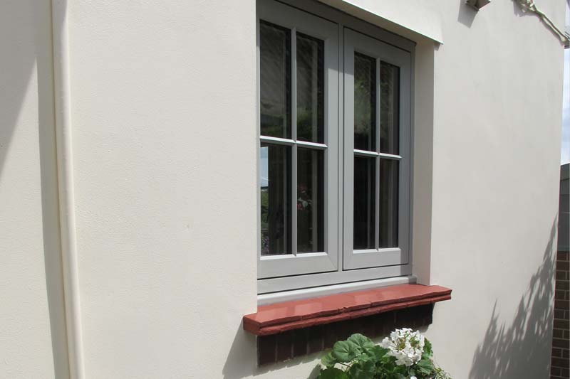 Shaws flush 100 timber alternative window
