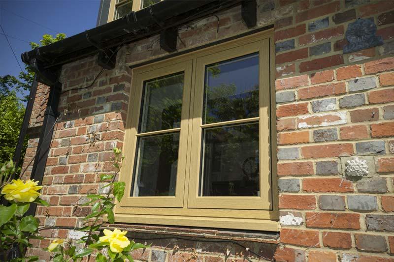 Shaws of brighton 75mm flush casement windows