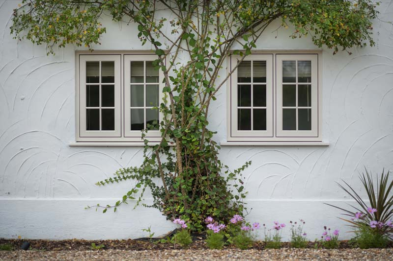 Shaws of brighton flush 100 timber alternative windows