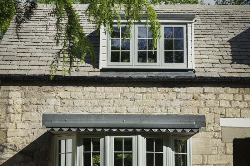Shaws timber alternative flush 75 windows