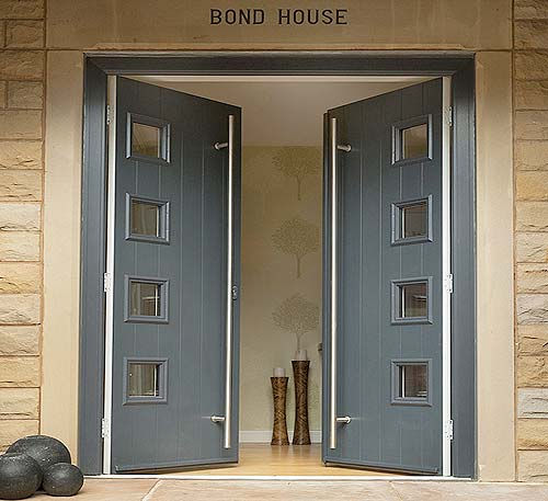Solidor stop composite door