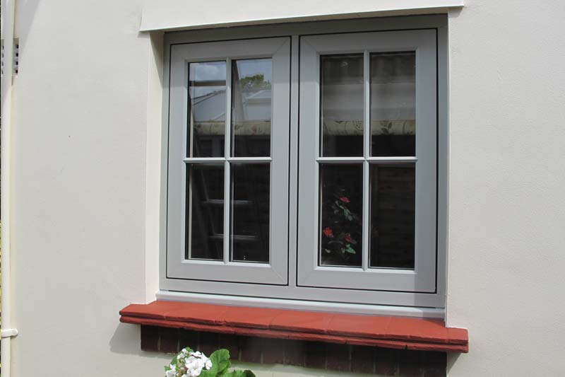 Timber alternative flush 100 casements brighton