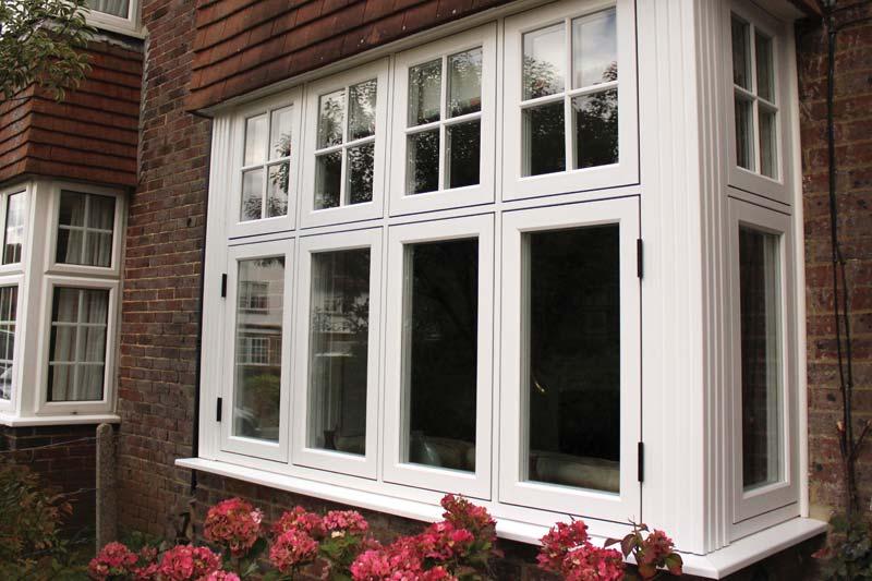 Timber alternative flush 75 windows from shaws of brighton