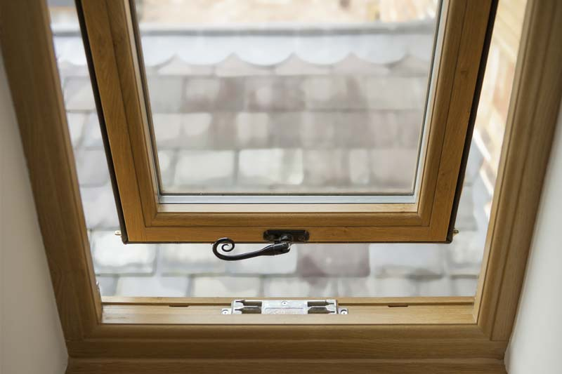 Timber alternative flush casement windows brighton